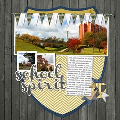 6 Ways to Add Banners to Your Scrapbook Pages - Scrapbooking Ideas, Memory Keeping, Layout Design