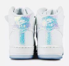654440-105 Nike WOMEN Air Force 1 High Premium White White Ice size 10 Air f839c22c47