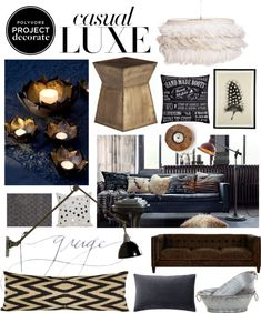 """""""Project Decorate: Casual Luxe"""" by molli9109 on Polyvore"""