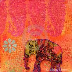 elephant india art - Google Search