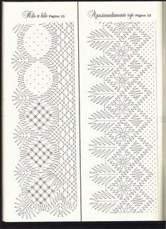 Bolillos&Bordados 12 (Nueva Epoca) Bobbin Lace Patterns, Lacemaking, Fancy, Crochet, Arizona, Bobbin Lace, Farmhouse Rugs, Flower, Lace Shawls