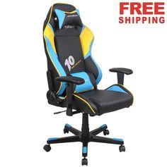 DXRACER DF53NBY Computer Chair Office Chair Sports Chair Gaming Chair