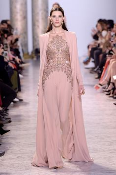 See all the looks from the collection. Spring Couture, Couture Week, Beautiful Dresses, Nice Dresses, Long Dresses, Belle Silhouette, Elie Saab Couture, Vogue, Classic Wedding Dress