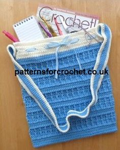Free crochet pattern tote bag usa