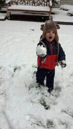 LOOK SNOW!