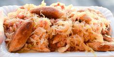 Deftige Low Carb Schupfnudeln mit Sauerkraut und Speck!