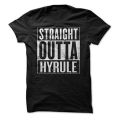Straight Outta Hyrule T-Shirts, Hoodies. VIEW DETAIL ==► Funny Tee Shirts