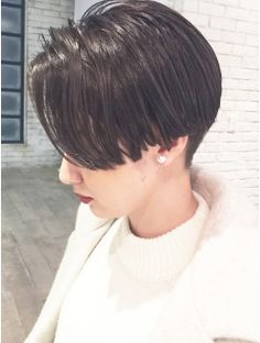 【ALBUM原2】ダークアッシュ×マッシュショート_ba17093 Cool Short Hairstyles, Permed Hairstyles, Diy Hairstyles, Hair Inspo, Hair Inspiration, Cabello Hair, Shot Hair Styles, Hair Arrange, Hair 2018