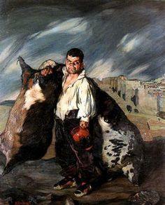 Zuloaga El enano Gregorio el botero