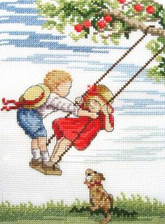 Higher - All Our Yesterdays Cross Stitch Kit By Faye Whittaker