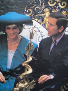 May 5, 1985: Prince Charles and Princess Diana travel by gondola along the Grand Canal in Venice on their official tour of Italy.