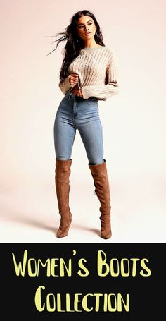 Women's Knee High Boots With Heels Women's Knee High Boots With Heels – Come check out our amazing womens fall boots collection online. Shop thousands of styles womens fashion boots & find great women's fall boots outfit ideas to help… Continue Reading → Latest Fashion For Women, Latest Fashion Trends, Womens Fashion, Fashion Edgy, Fashion Black, Cheap Fashion, Over The Knee Boot Outfit, Knee High Boots, Fall Fashion Outfits