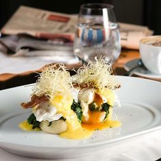 Fuel you day with our gorgeous poached eggs at 45 Park Lane