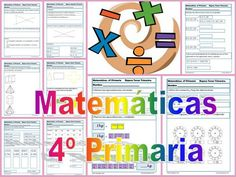 matemáticas cuarto primaria Elementary Spanish, Math Classroom, Teaching Math, Finding Yourself, Design Inspiration, Science, Education, Reading, School