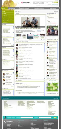 My Beautiful Intranet (Goes Social) – the Entries « Intranet Benchmarking Forum