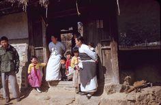 "Korea, 1953. Photographer unknown. ""Our interpreter on left."""
