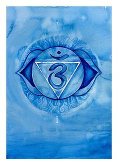 Chakra Print Set   Sacred Sanskrit Symbols   Chakra Healing   Healer s Art    9x A4 Archival Fine Art Prints ec0358e61