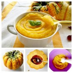 Pumpkin baby food purée suitable from 4 month -6 months