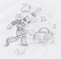 BJ's Child Idea Sketch 3 by x-Lydia-Deetz-x on DeviantArt