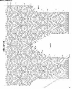 Trendy Crochet Clothes For Women Summer Crochet - Diy Crafts - maallure Filet Crochet, T-shirt Au Crochet, Mode Crochet, Crochet Motifs, Crochet Shirt, Crochet Diagram, Crochet Woman, Crochet Stitches, Crochet Dresses