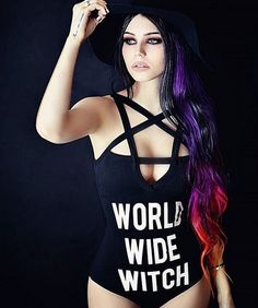 World wide witch Bodysuit alternative