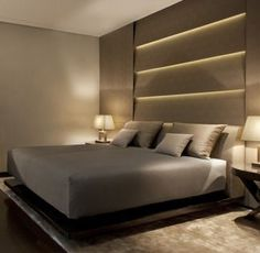 This is how I want to retire at the end of a long day. Armani Hotel Milano _ #homefurniturebedroom