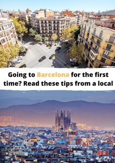 Going to Barcelona for the first time? Read these tips from a local with lots of travel tips about Barcelona Spain. #spain #barcelona #mapofjoy Local Map, North Europe, City Break, Barcelona Spain, Outdoor Travel, First Time, The One, Times Square, Travel Tips