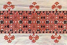 A teljes méretű képhez kattints ide Hungarian Embroidery, Folk Embroidery, Embroidery Stitches, Embroidery Patterns, Digimon, Needle And Thread, New Art, Fiber Art, Needlepoint