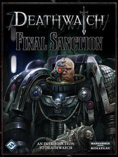 Deathwatch - Final Sanction Warhammer Deathwatch, Warhammer 40000, Warhammer Books, Swords And Daggers, Marines, Battle, Darth Vader, Fictional Characters, Gifts