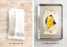 Miso-citrus Cod en Papillote