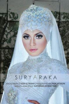 Hijabi bride