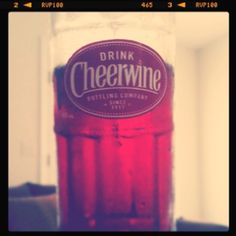 Brian had never had Cheerwine - we went on an adventure and found it last weekend.  He loved it, duh!