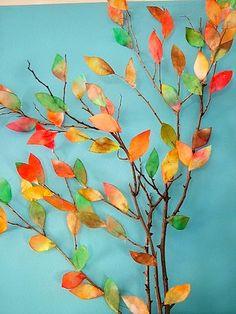 Patch O' Dirt Farm autumn tree art