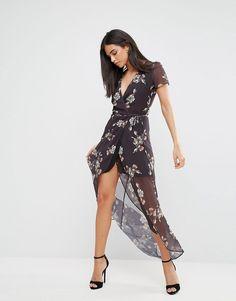 Shop Hope   Ivy Floral Wrap Maxi Dress at ASOS. Izzy Long b256c2437