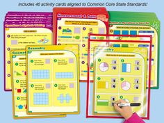 Lakeshore's Common Core Math Practice Cards are designed to support Common Core State Standards—with self-checking activities that cover essential math skills for second grade!