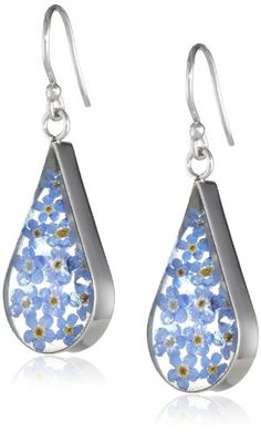 Sterling Silver Blue Pressed Flower Teardrop Earrings Amazon Curated Collection http://www.amazon.com/dp/B002AQSSRO/ref=cm_sw_r_pi_dp_0mVVtb17BM2ZEKMS