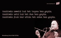 15 Nusrat Fateh Ali Khan Qawwalis That Are Sure To Give You Goosebumps Nfak Quotes, Mood Quotes, Lyric Quotes, Life Quotes, Lyrics, Hindi Quotes, Qoutes, Status Quotes, Crush Quotes