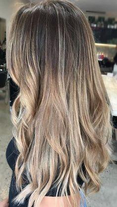 low maintenance hair color idea