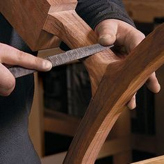 This shopmade router jig, designed by NBC sitcom star Nick Offerman, levels thick slabs to create Nakashima-style tabletops and other unique pieces. The heart of the jig is a trough that guides the router over the workpiece, allowing you to even out the high and low points as much as possible and retain the maximum possible thickness. It works relatively quickly, leaving only a few minutes of sanding left to do. For thicker slabs, Offerman shares a technique for routing flat channels in the…