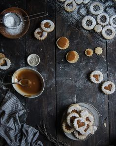 Rosemary Salted Caramel Linzers - GoodHousekeeping.com
