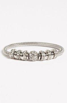 Women's Anne Klein Crystal Stretch Bracelet