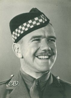 Lieutenant Peter Salmond, Argyll and Sutherland Highlanders. Born Inverkeithing Fife, died 16 July 1944 France