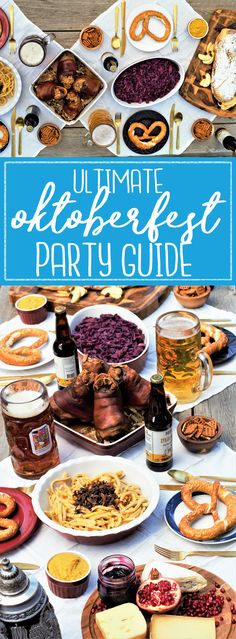 All-in-one guide for hosting your own Oktoberfest feast: roasted pork knuckle, sweet-tart red cabbage, cheesy noodle dumplings, & flaky apple strudel!