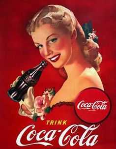 The world loves red...and coke! : )