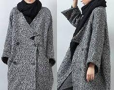 Image result for oversized orange and grey coat Grey Fashion, Orange, Coat, Jackets, How To Wear, Peacoats, Coats, Jacket, Suit Jackets