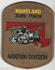 Maryland State Police Aviation Shoulder Patch