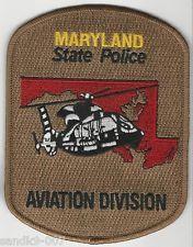 Maryland State Police Aviation Shoulder Patch