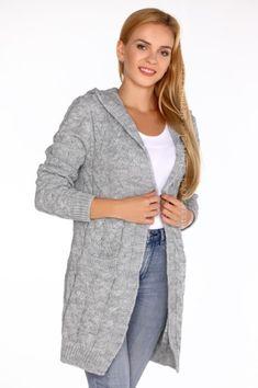 100% ACRYL  Sexy Cardigan Grey  #lingerie #lingeriepartner #eroticlingerie #b2b Lingerie, Coats, Grey, Sweaters, Jackets, Fashion, Gray, Down Jackets, Moda