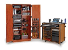 Great Media Storage Cabinet With Doors Gallery