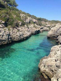 Cala en Brut. Menorca